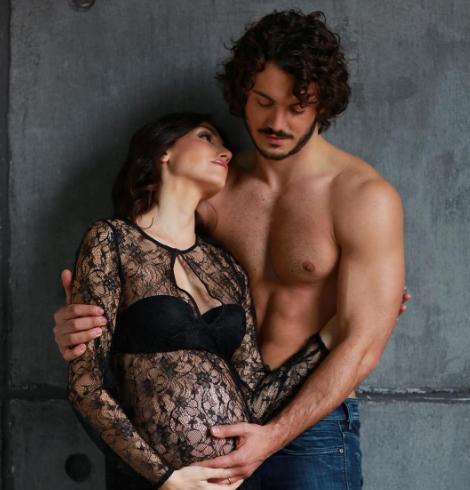 Chicca Rocco e Giovanni Masiero sono diventati genitori di Ginevra