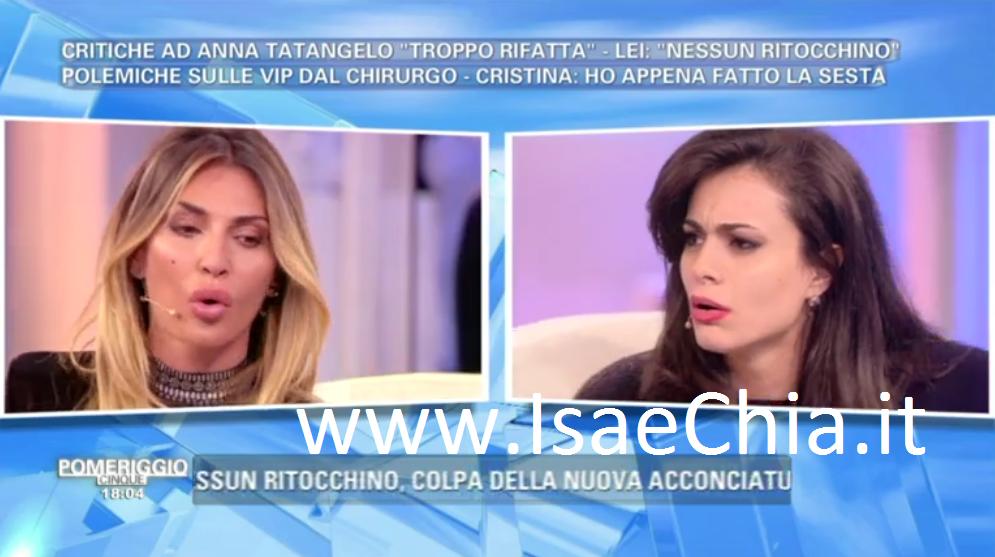 Pomeriggio Cinque, Cristina Del Basso contro Rosa Dilettuso