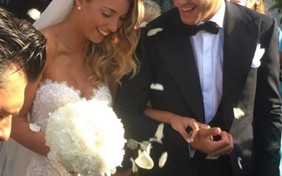 Alvaro Morata e Alice Campello