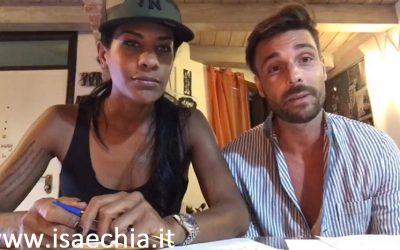 Georgette Polizzi e Davide Tresse