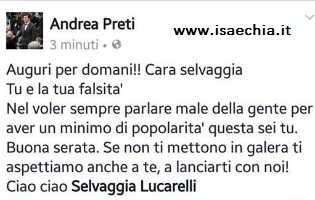 Facebook- Andrea Preti