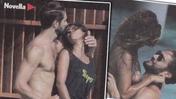 Alex Belli nudo, non resiste alle curve sexy di Mila Suarez