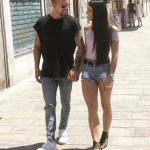 Jonathan Gerlo e Shaila Gatta