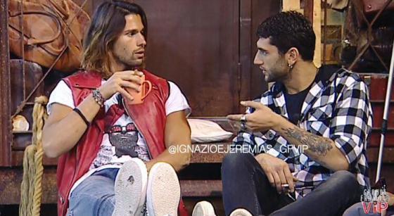 Luca Onestini e Jeremias Rodriguez