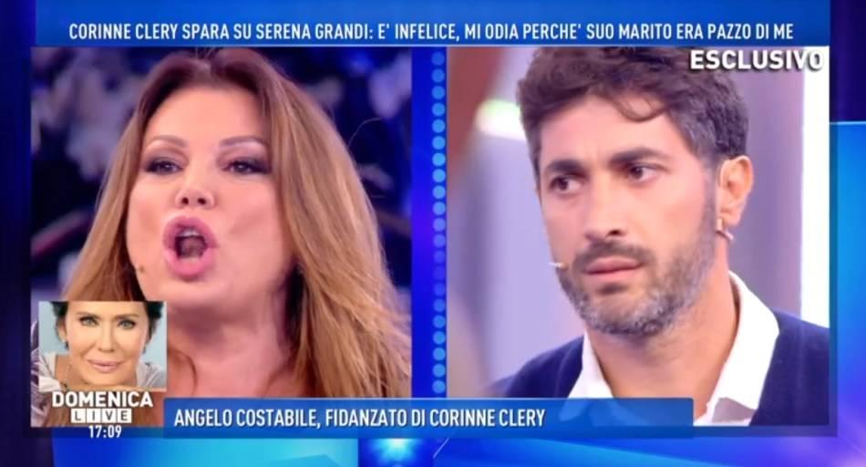 Continua la guerra tra Serena Grandi e Corinne Clery