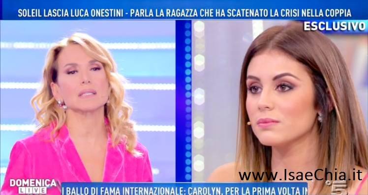 Domenica Live: la confessione di Giulia Latini su Luca Onestini
