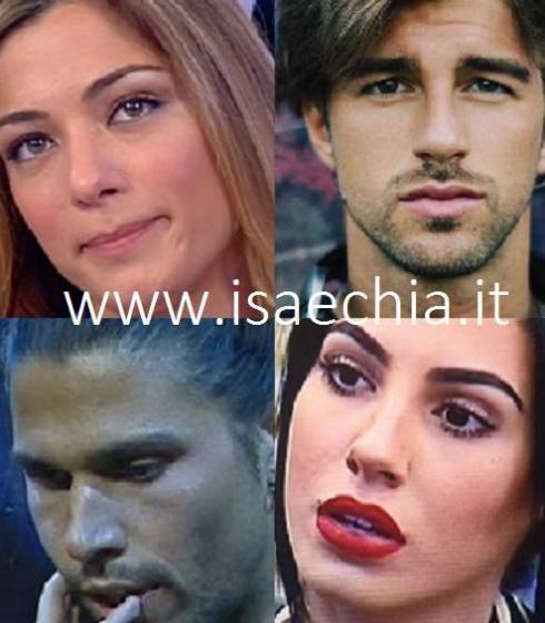 Soleil Sorge, Luca Onestini,Andrea Damante e Giulia De Lellis