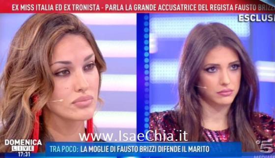 Domenica Live, Rosa Perrotta, Clarissa Marchese