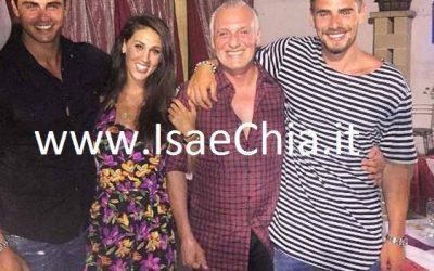 Francesco Monte, Cecilia Rodriguez, Angelo Monte e Stefano Monte