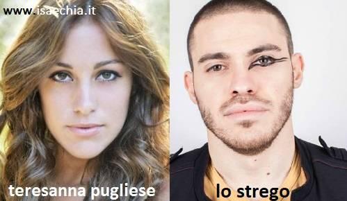 Somiglianza tra Teresanna Pugliese e Lo Strego
