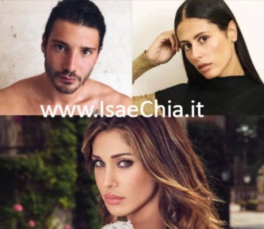 Stefano De Martino, Gilda Ambrosio, Belen Rodriguez
