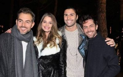 Daniele Bossari, Ivana Mrazova, Luca Onestini, Raffaello Tonon