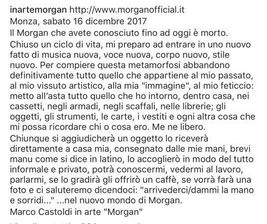 Non paga alimenti, casa pignorata a Morgan