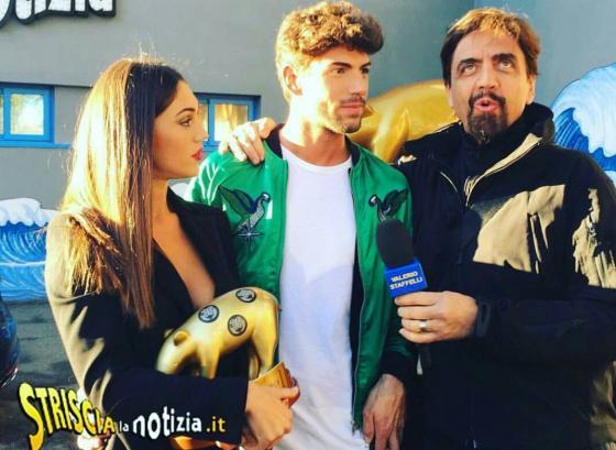 Cecilia Rodriguez, Ignazio Moser e Valerio Staffelli