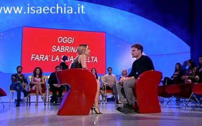 Trono classico - Sabrina Ghio e Nicolò Raniolo