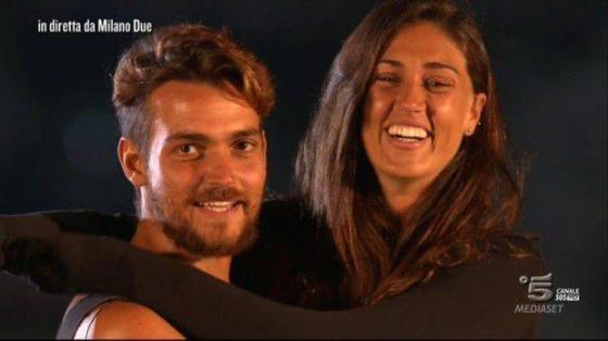 Valerio Scanu e Cecilia Rodriguez