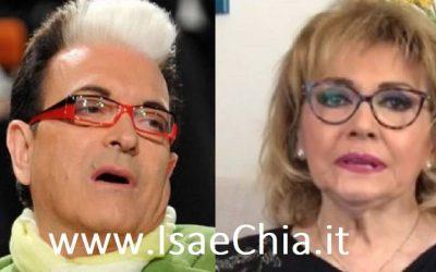 Cristiano Malgioglio e Rita De Michele