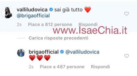 Ludovica Valli e Mattia Briga: è amore?