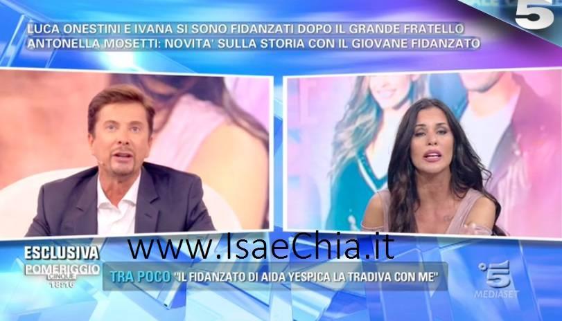Antonella Mosetti e Riccardo Signoretti: insulti e rissa sfiorata a Pomeriggio 5