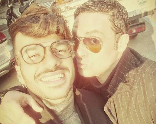 Alberto Dandolo e Claudio Sona