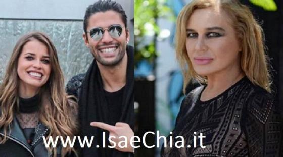 Ivana Mrazova, Luca Onestini e Lory Del Santo