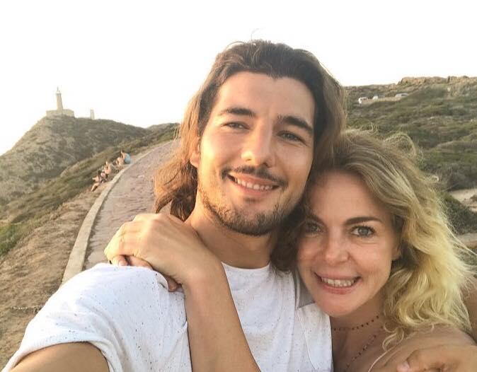 Claudia Gerini ha lasciato Andrea Preti, l'attore confessa: