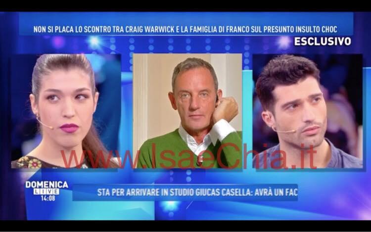 Francesca Cipriani non è fidanzata: parla l'ex ragazzo a Domenica Live