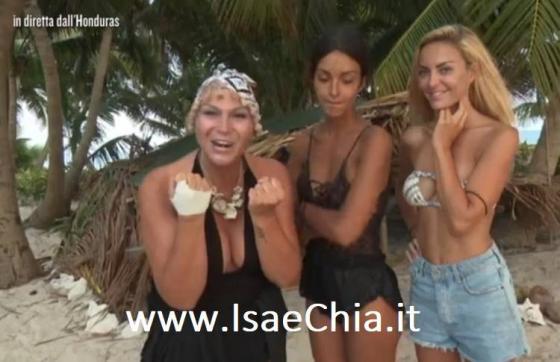 Nadia Rinaldi, Rosa Perrotta e Elena Morali