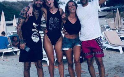 Salvatore Angelucci, Alessandra Gallocchio, Karina Cascella e Max