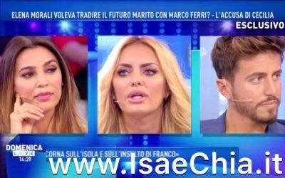 Cecilia Capriotti, Elena Morali, Marco Ferri