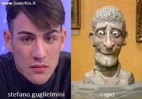 Somiglianza tra Stefano Guglielmini e Capo di 'Art Attack'