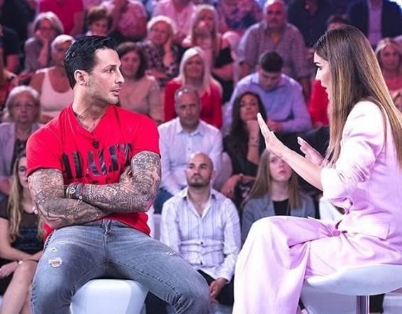 Fabrizio Corona a Verissimo: 'A Nina Moric non risponderò più al telefono'