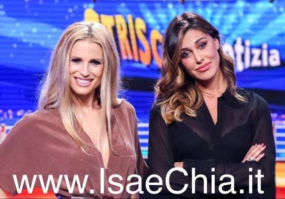 Michelle Hunziker e Belen Rodriguez