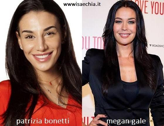 Somiglianza tra Patrizia Bonetti e Megan Gale