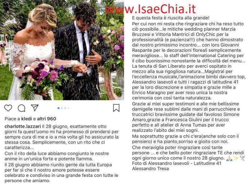 Kledi Kadiu si è sposato con Charlotte Lazzari: nozze in gran segreto